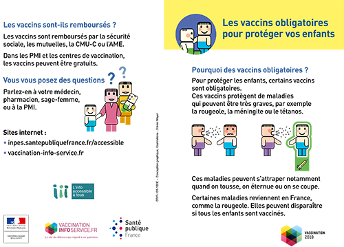 Flyer obligations vaccinales